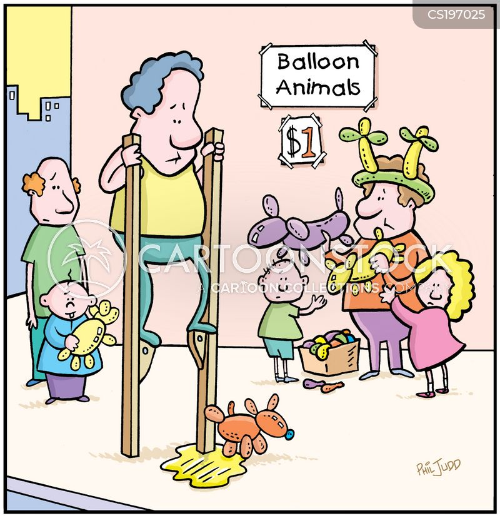 street entertainment cartoon