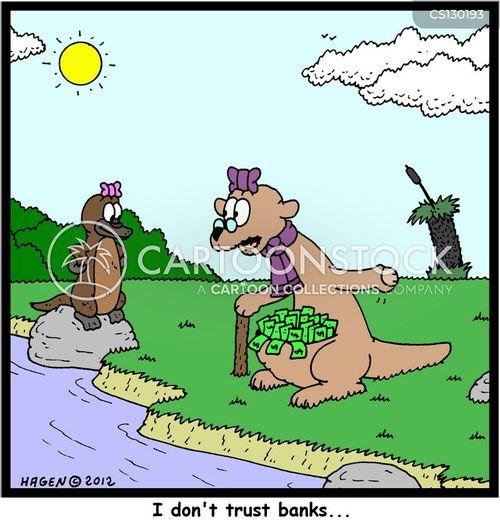 trustful cartoon