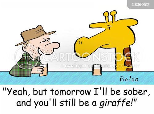 sober up cartoon