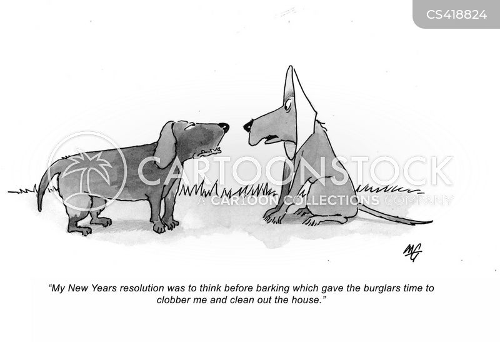 home invasion cartoon