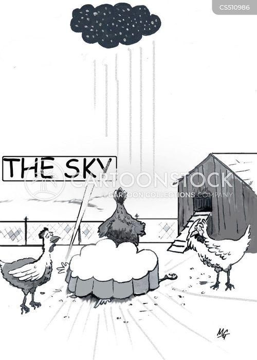 falling sky cartoon