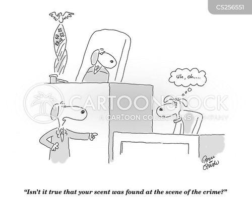 scenting cartoon
