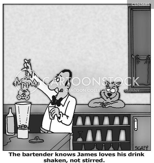 food blender cartoon