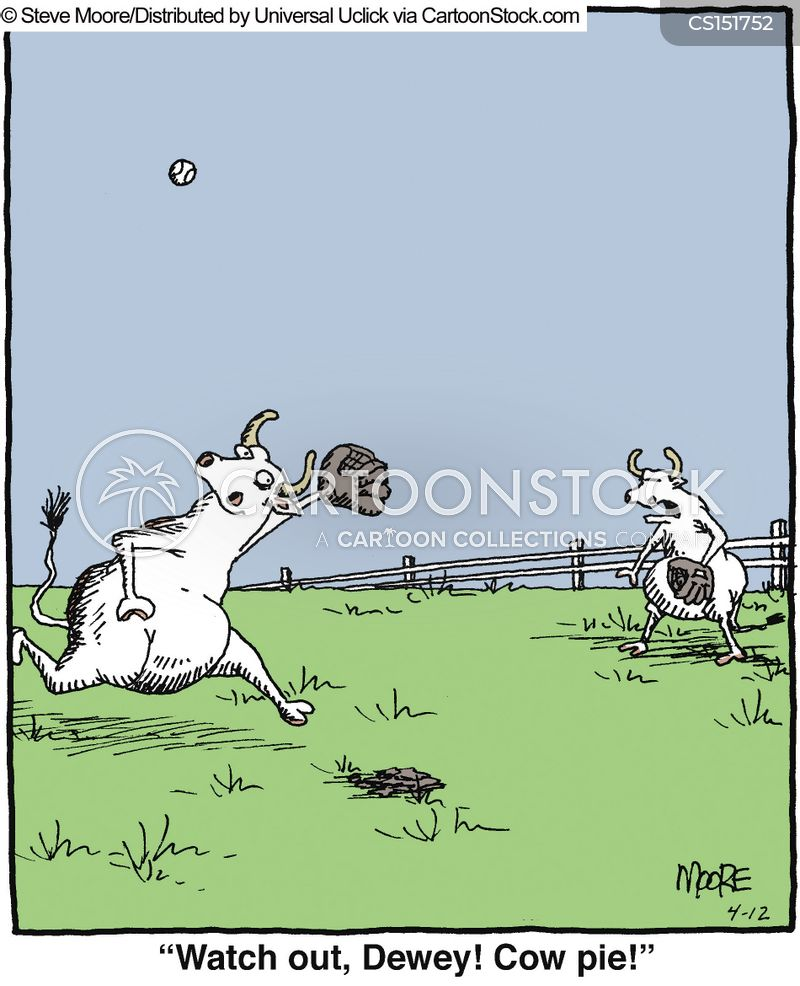 cow pie cartoon