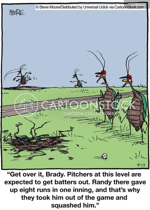 pest controller cartoon
