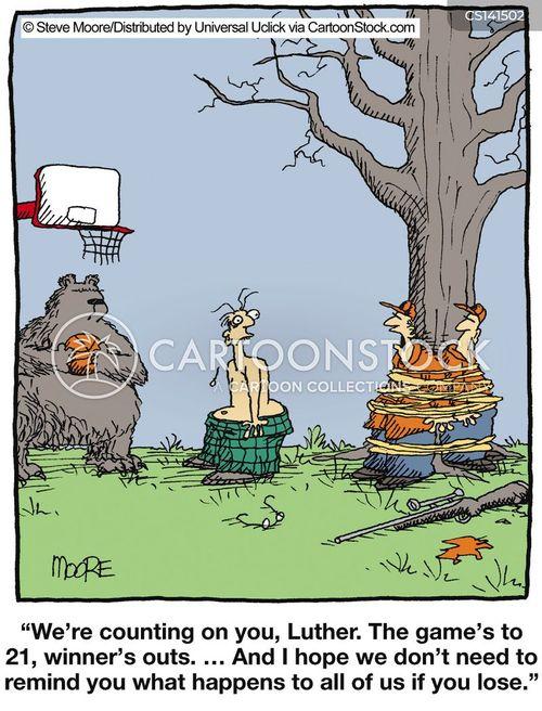scored cartoon