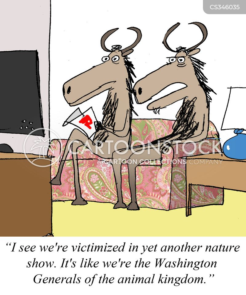 victimized cartoon