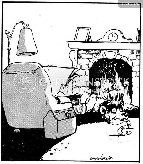 Bear Rug Cartoons And Comics