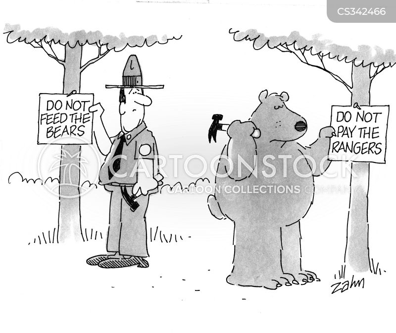feed the bears cartoon