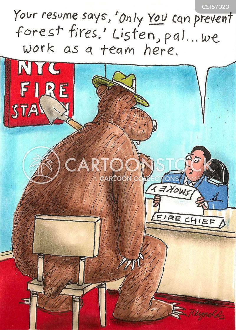 Forest Fire Cartoons And Comics Funny Pictures From