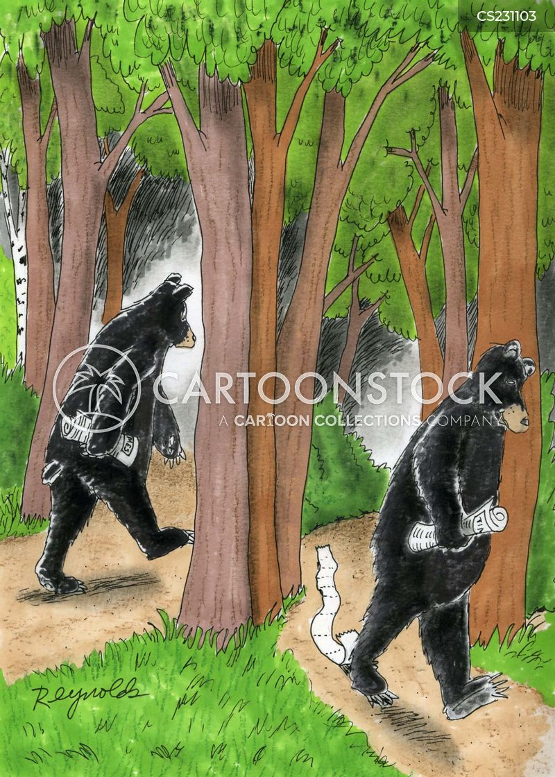 Going To The Bathroom In The Woods Delectable Outdoor Loo Cartoons And Comics  Funny Pictures From Cartoonstock Design Decoration