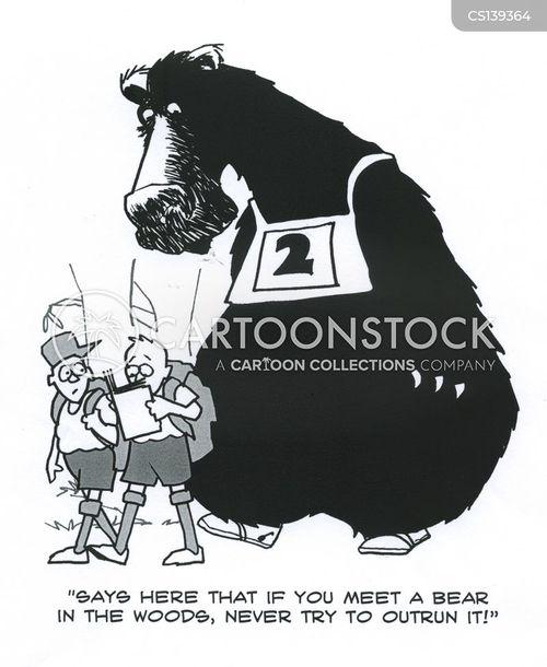 guide books cartoon