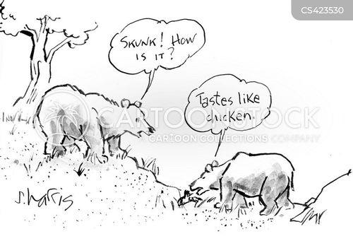 bear food cartoon