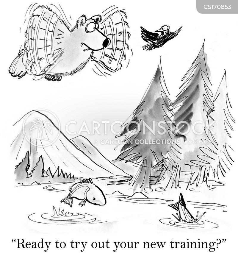 training sessions cartoon