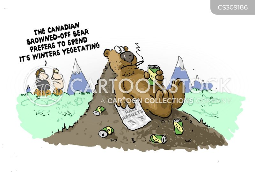 vegetating cartoon