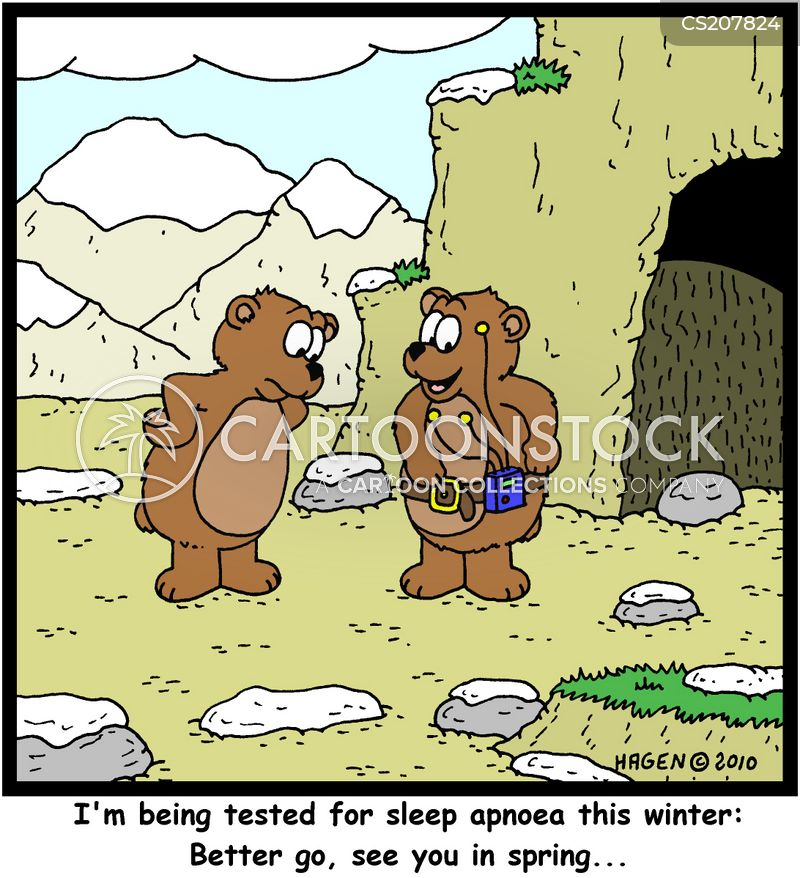 snores cartoon