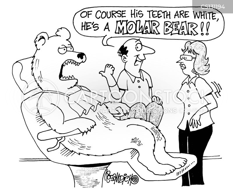 molars cartoon