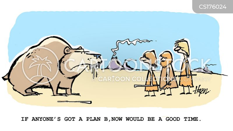 alternative plan cartoon