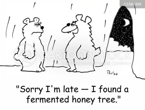 fermented cartoon
