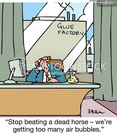 quality control cartoon