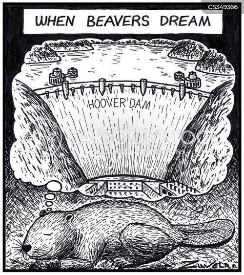 hoover dam cartoon