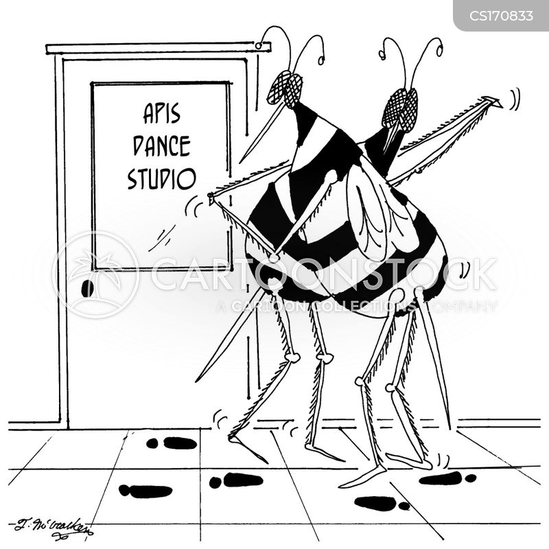 dance studios cartoon