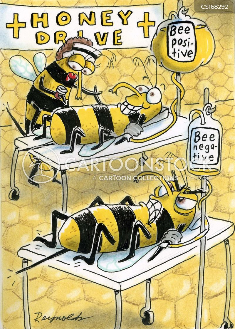 honey bees cartoon