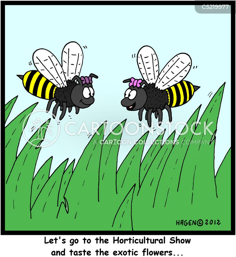 horticultural shows cartoon