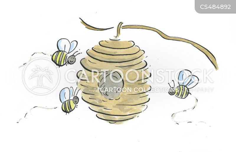 Bee-hives cartoons, Bee-hives cartoon, funny, Bee-hives picture, Bee-hives pictures, Bee-hives image, Bee-hives images, Bee-hives illustration, Bee-hives illustrations