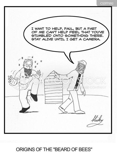 stings cartoon