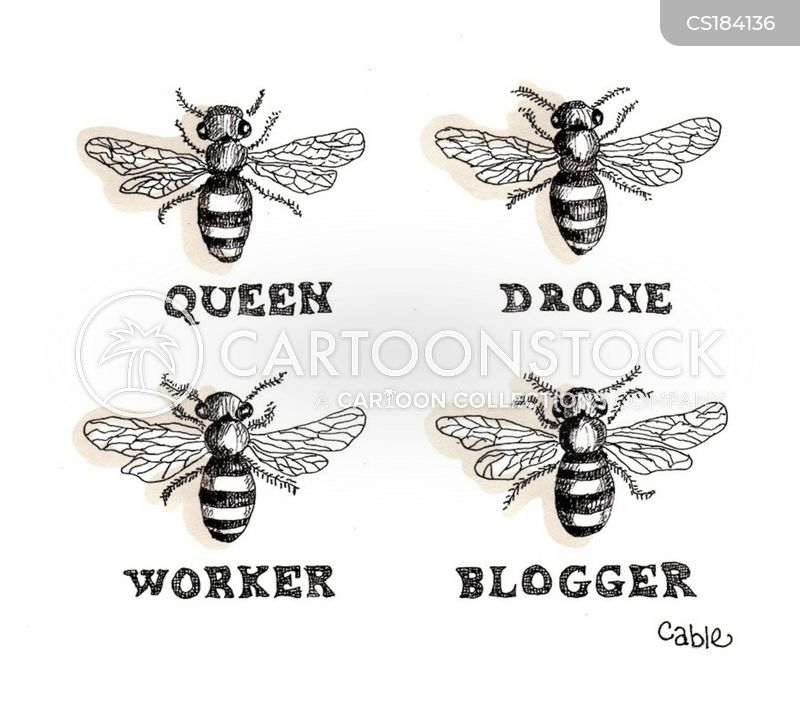 Queen Bees cartoons, Queen Bees cartoon, funny, Queen Bees picture, Queen Bees pictures, Queen Bees image, Queen Bees images, Queen Bees illustration, Queen Bees illustrations