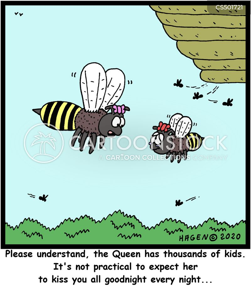 bee-hive cartoon