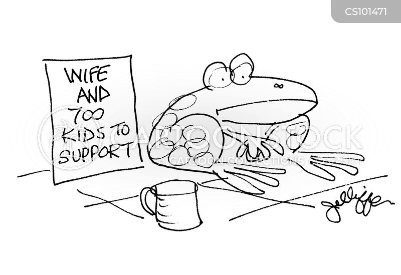 family support cartoon