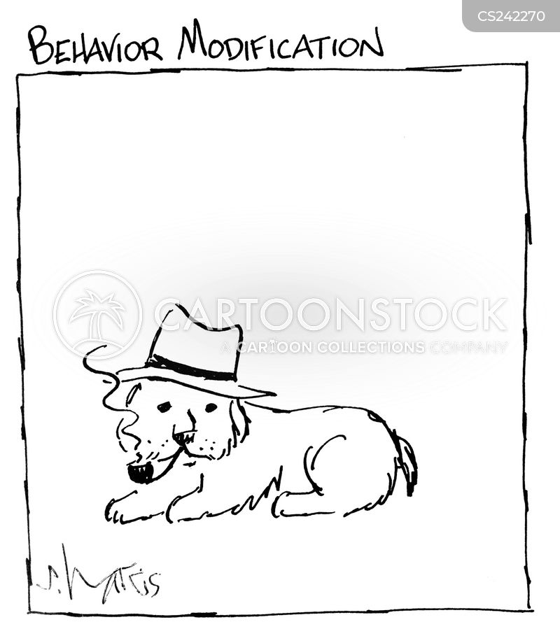 behavior modification cartoon