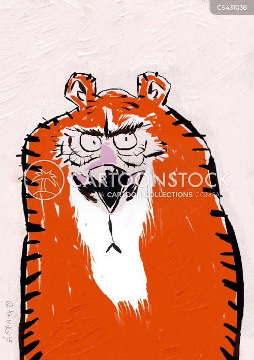bengal tiger cartoon