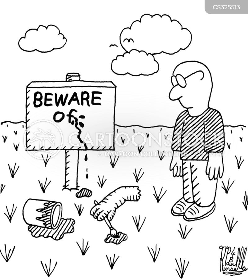 safety hazard cartoon