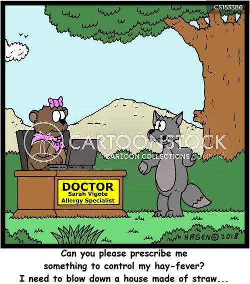 big-bad-wolf cartoon
