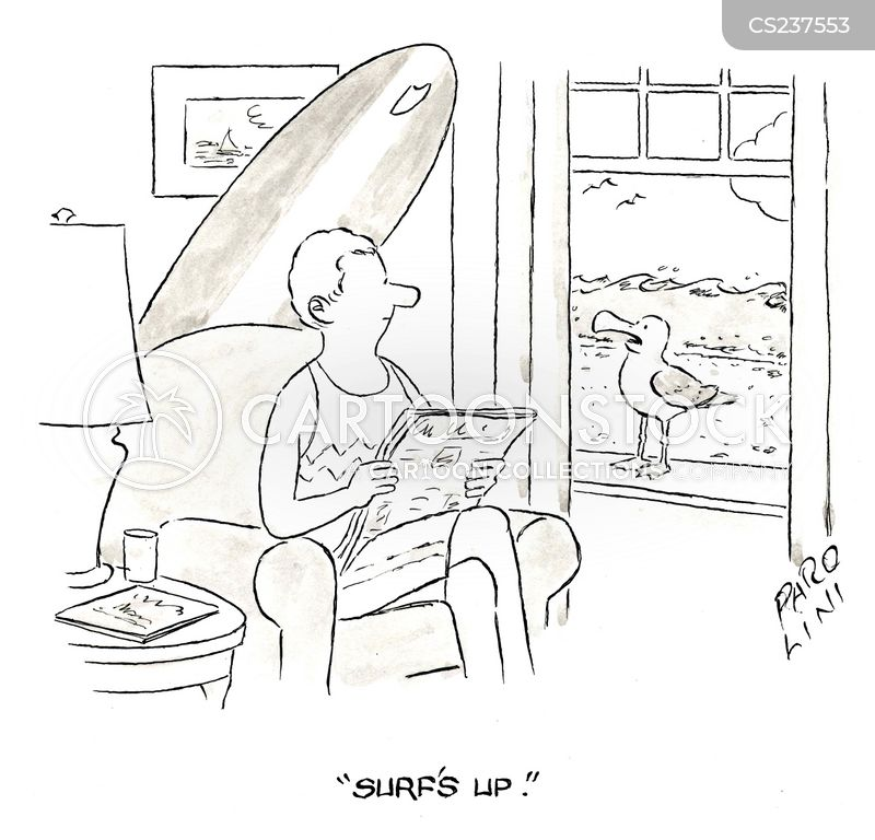 surfed cartoon