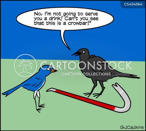 crowbar cartoon