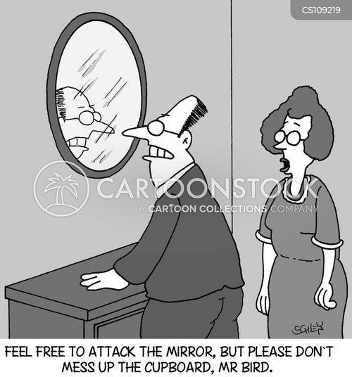 property damage cartoon