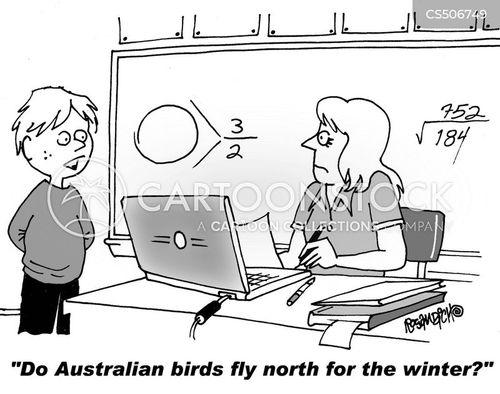warm climate cartoon