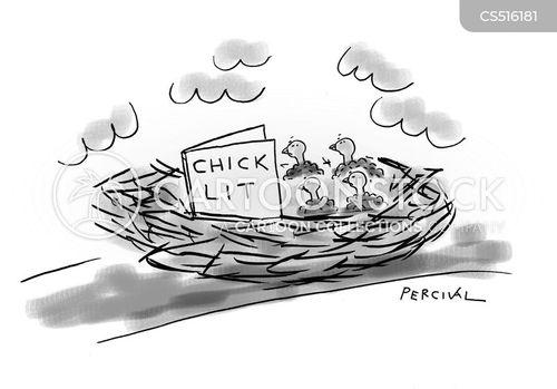 chick lit cartoon