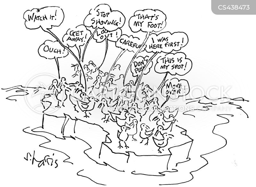 migratory patterns cartoon