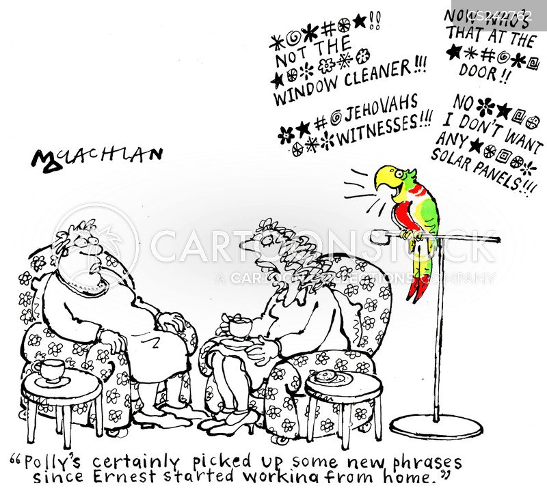 profanity cartoon
