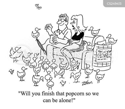 intrudes cartoon