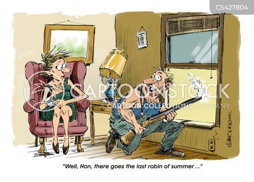 robins cartoon