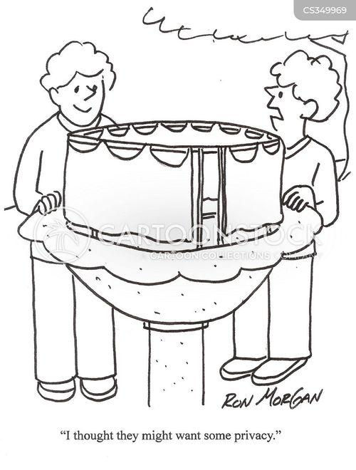 shower curtains cartoon