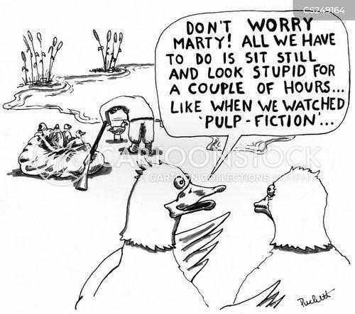 duck hunt cartoon