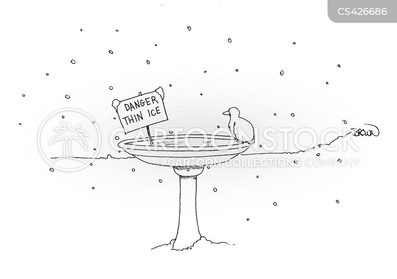 Thin Ice cartoons, Thin Ice cartoon, funny, Thin Ice picture, Thin Ice pictures, Thin Ice image, Thin Ice images, Thin Ice illustration, Thin Ice illustrations