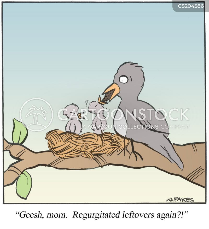 regurgitated cartoon